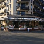 Mario cafe  is located in a south beach in Nessebar.  free parking space.  as children's play sp