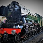 The Flying Scotsman visits West Somerset