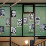 Visual wall of some of the laureates