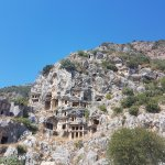 Photo of Rock tombs in Myra