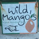Wild Mango's welcome sign