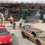 Model Village Car Garage