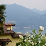El lago di Como desde nuestra terraza