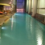 Stainless steel super long pool