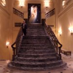 Staircase off reception