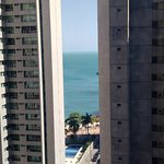 Vista do quarto do Hotel