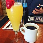 This mimosa was soooo goood