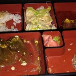 The remains of one of our Bento Boxes!