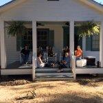 Enjoying good company at Coco House at The Myrtles Plantation
