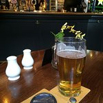 Early evening pint, before the rush.