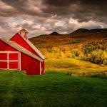 Bucolic Vermont Scene
