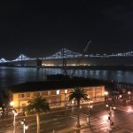 Rooftop view of the Bay Bridge