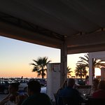 Sunset at Mamma Mia's