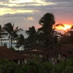 Sunset from back lanai