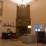 Lobby and Fireplace