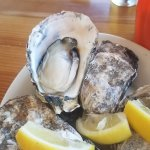 Oysters so plump and tender!