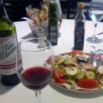 Menu diario: Rioja y ensalada murciana, para empezar