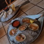 Local oysters & clams on the half shell