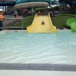 Kid waterslide