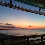Sunset at Pier Cafe
