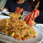 Lobster fried rice