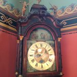 One of 5 grand Grandfather clocks.