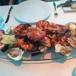 Seafood platter signature dish