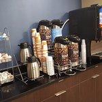 Breakfast Display  Coffe and Juice