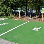 Electric Vehicle Charging Station - one of the newest amenities at the resort.