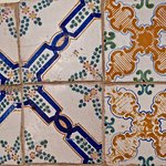 Tiles on roof terrace