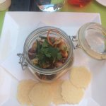 Smoked Octopus Salad