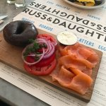 classix salmon lox and bagel