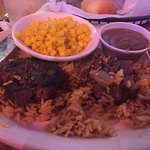 I had the filet medallions and rice. Very good!