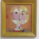 Senecio (Soon to be Aged) by Paul Klee