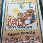 Ken's classic menu