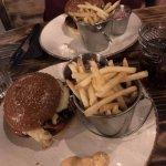 char grilled chicken burger