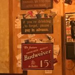 Swizzle Inn wall signs