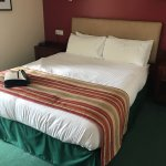 Queen double room with balcony, I don't think so as there is nothing Queen about it!