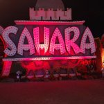 Old Sahara sign from the strip