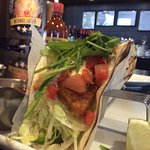 The grilled fish taco