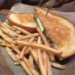 Country Grilled Cheese with apples