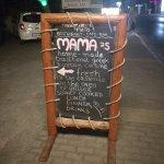 MAMA's sign