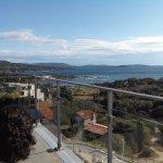 Vue de la terrasse panoramique du 6ème