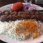 Amazing koobideh with glatt's kosher meat. Delicious!!