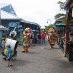 Junkanoo Parade in the main square, Port Lucaya