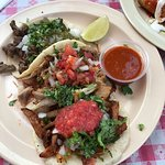 Some of the best street tacos are right on Sunset Blvd in Hollywood at Pinches Tacos.