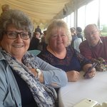 My wife and friends enjoying our day out at Cottrell park..