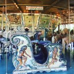 Kids and adults love the dozens of venues in Griffith Park, including this vintage carousel.