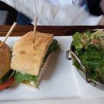 Turkey Sandwich and Caesar