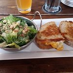 Grilled Mac and Cheese and Caesar